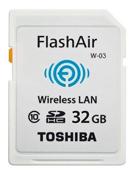 Tarjeta WIFIToshiba FlashAir W-03 (32GB)