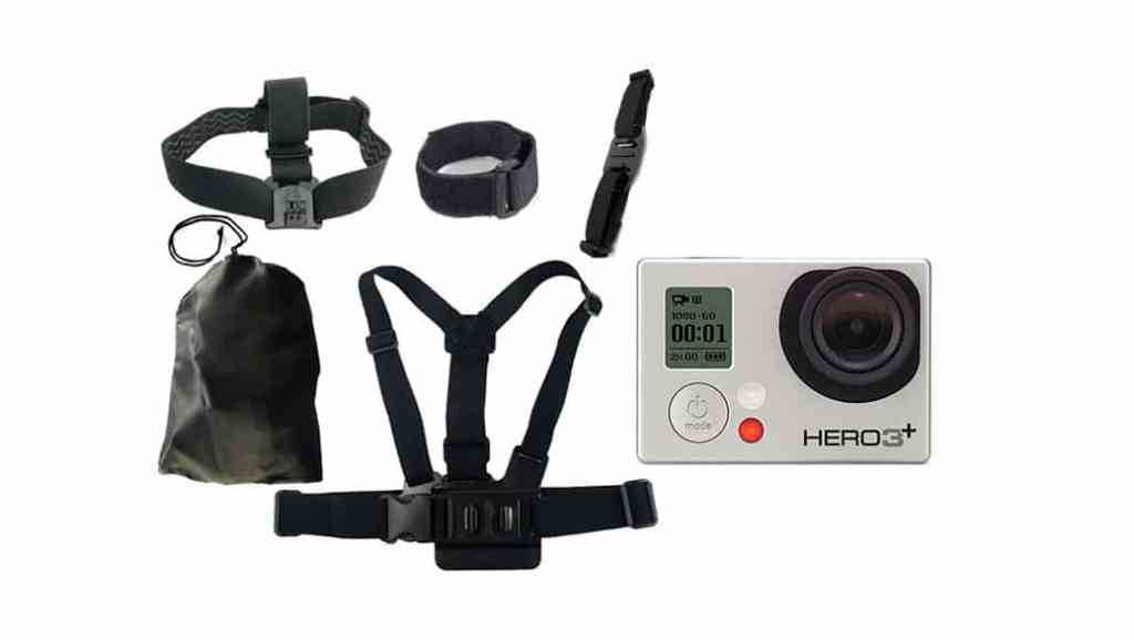 Los accesorios más baratos para tu cámara GoPro Hero 3