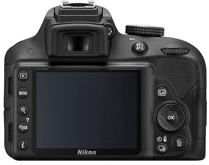 nikon D3300 pantalla