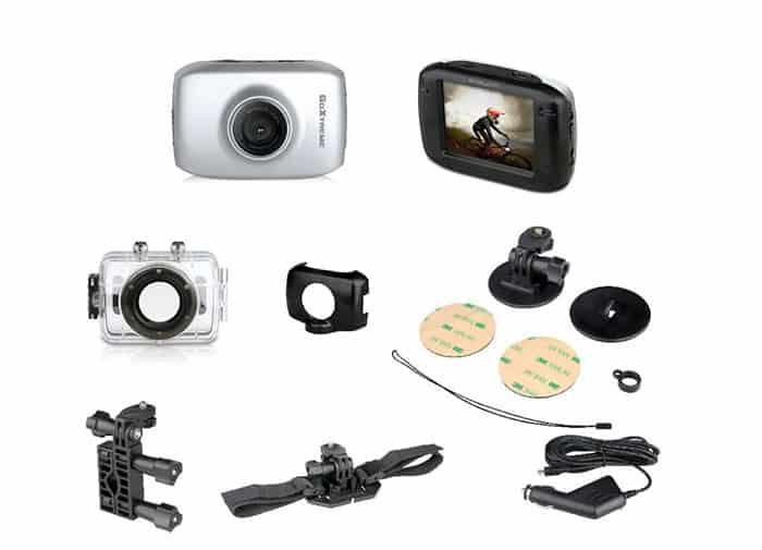 Acción cámara caso para Easypix goextreme visión 4KVelocidadver cámaras de acción