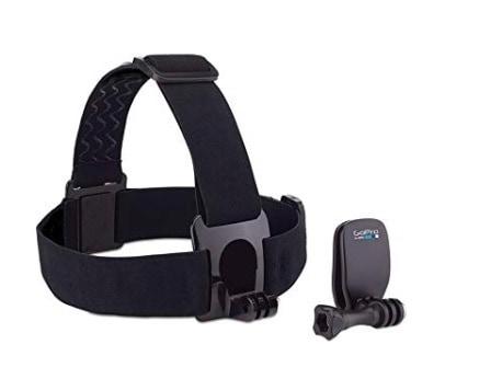 GoPro DK00150085 - Correa ajustable para la cabeza y Clip