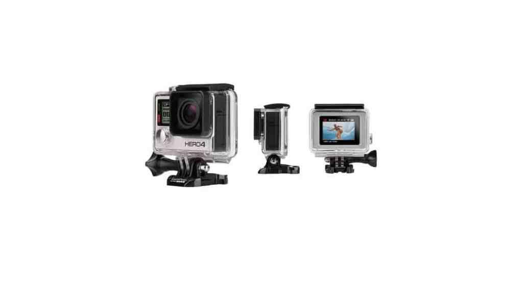 GoPro HERO4 Black con video 4K, Hero4 Silver con pantalla táctil y la más barata GoPro HERO
