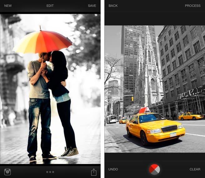 Exposure para iOS: la aplicación que te permite aplicar efectos a distintas partes de la imagen