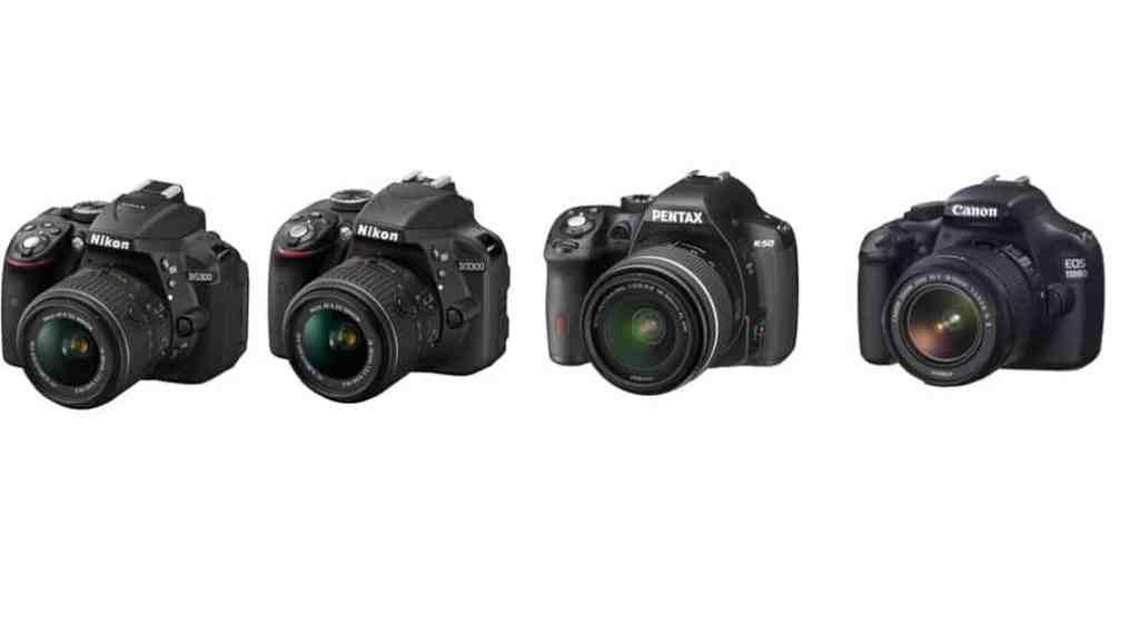 Las 4 mejores cámaras DSLR (Réflex Digitales) por menos de 700 euros