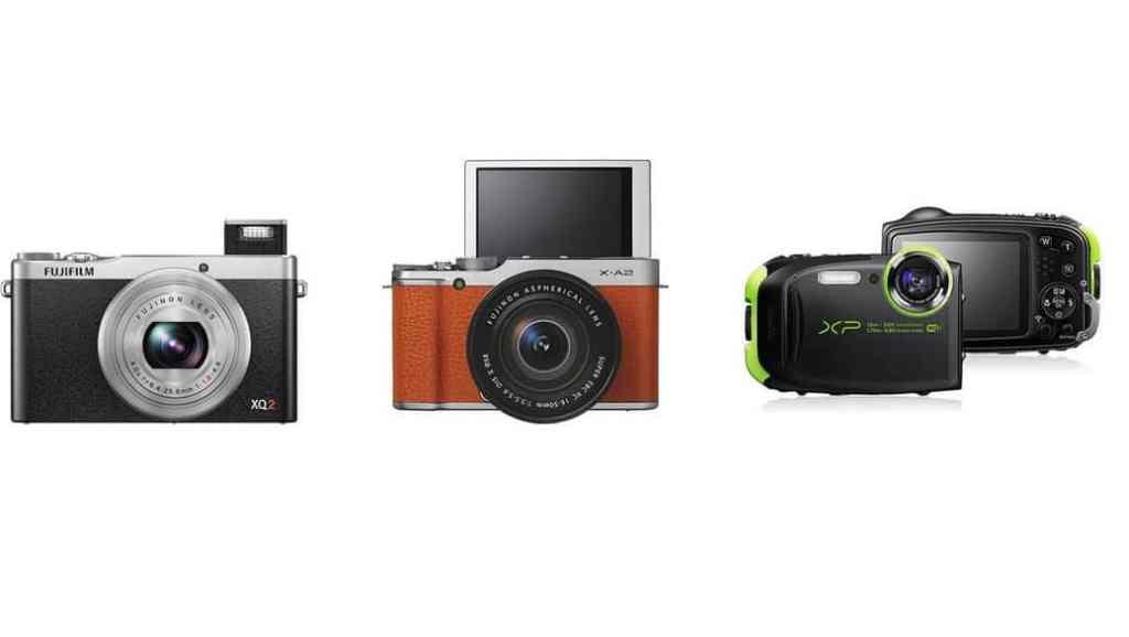 Fujifilm presenta 3 nuevas cámaras: Fujifilm X-A2, Fujifilm XQ2 y Fujifilm FinePix XP80