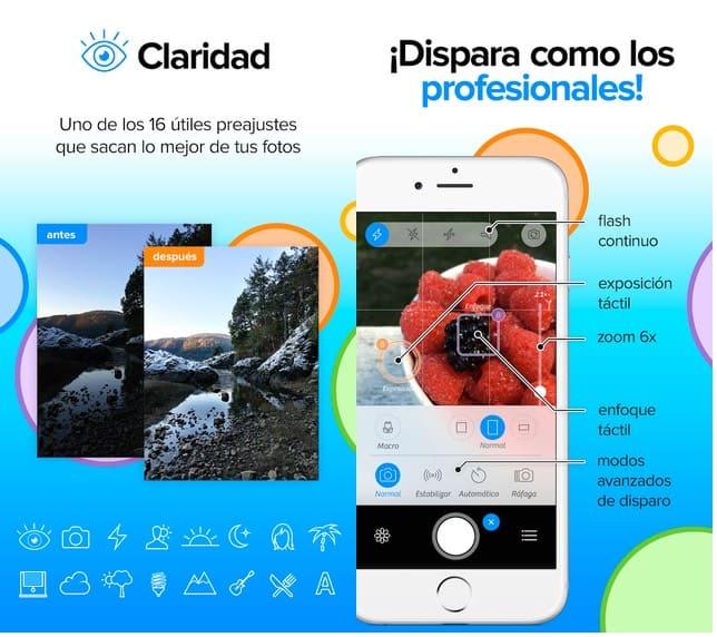 camera + app iphone