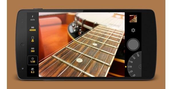 Manual Camera app android