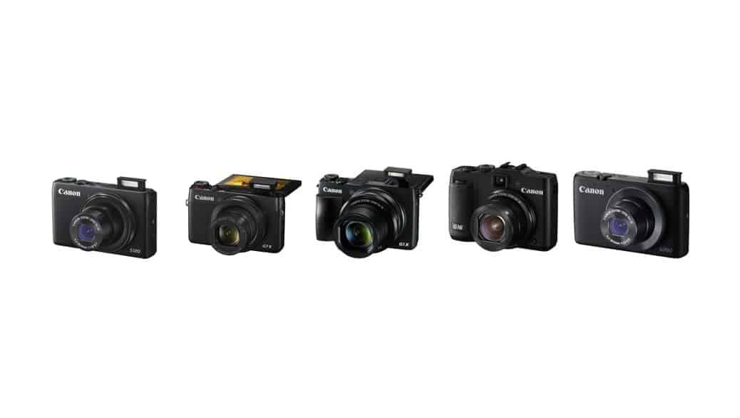 Cámaras de Canon: cámaras compactas avanzadas