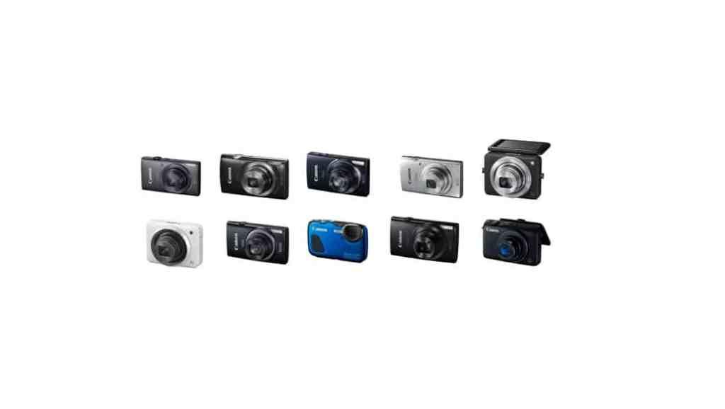 Cámaras de Canon: todas sus cámaras compactas (2015)