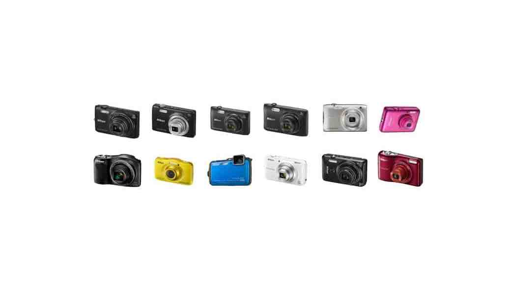 Cámaras de Nikon: cámaras compactas (2015)