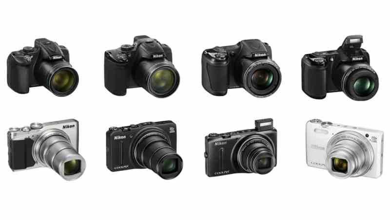 Cámaras de Nikon: cámaras bridge y superzoom (2015)