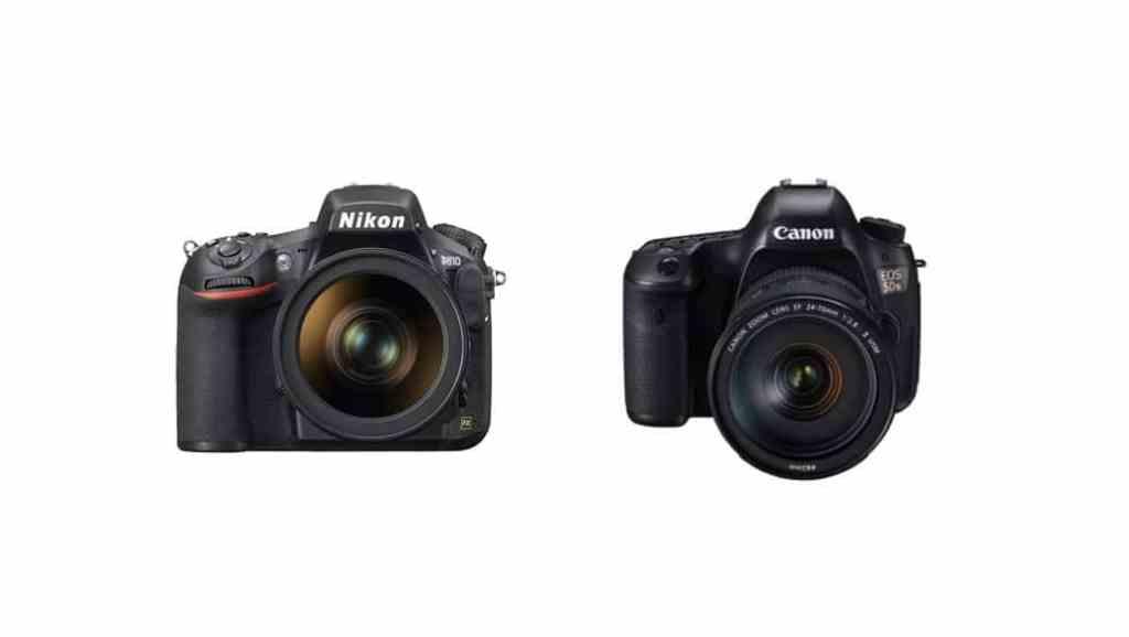 Canon 5DS y 5DS R vs Nikon D810