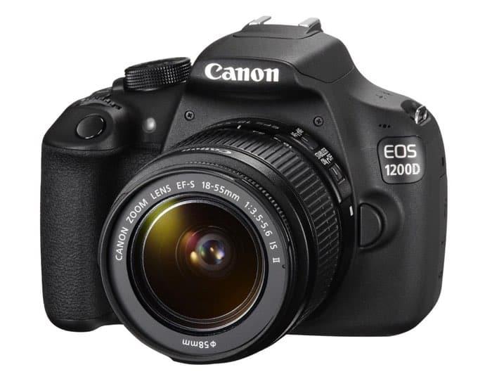 Cámaras Canon DSLR: Canon EOS 1200D