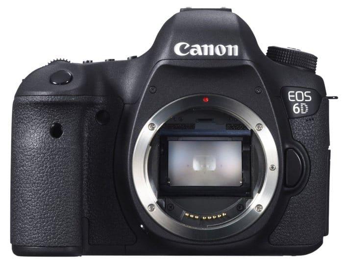 Cámaras Canon DSLR: Canon EOS 6D