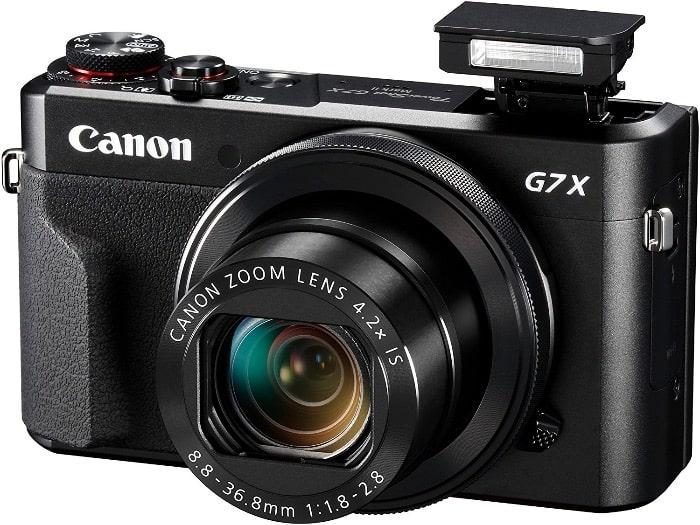 Cámaras bridge y superzoom de Canon:Canon PowerShot G7 X Mark II