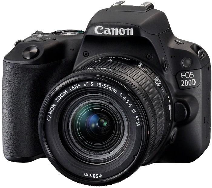 Cámaras Canon DSLR: Canon EOS 200D