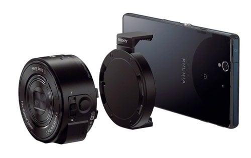 Cámaras compactas de Sony: Sony QX10 y QX30