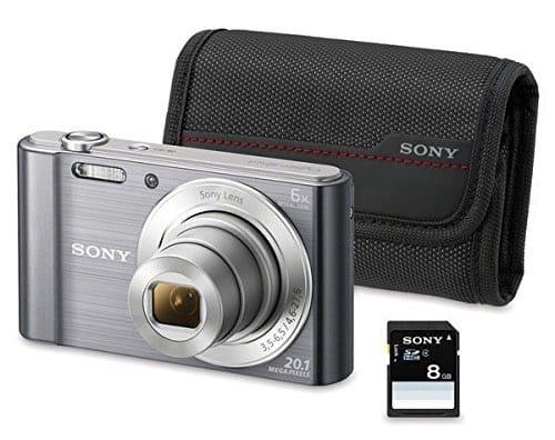 Cámaras compactas de Sony: Sony W810