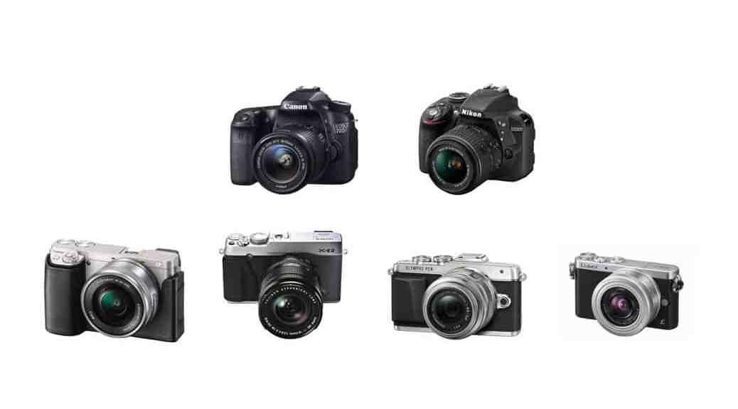 6 de las mejores cámaras que puedes comprar en 2015