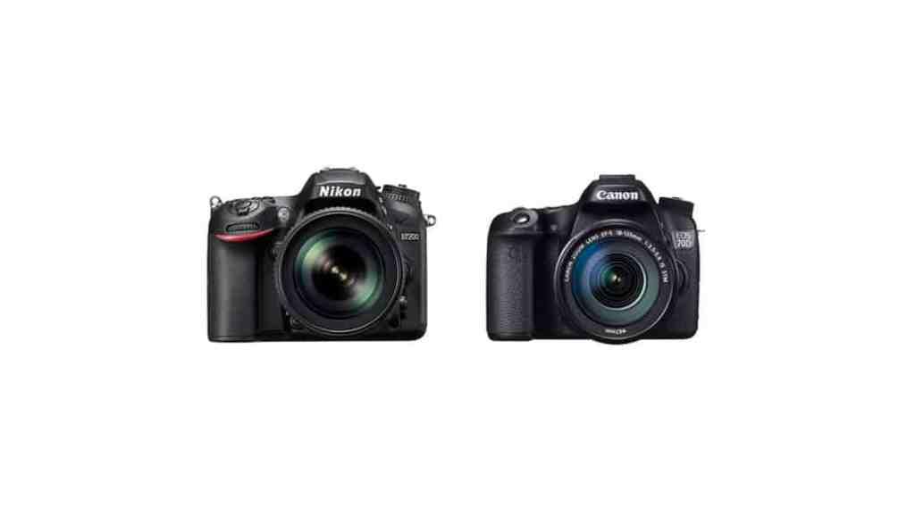 Comparativa Nikon D7200 vs Canon EOS 70D: Ofertas y dónde comprar