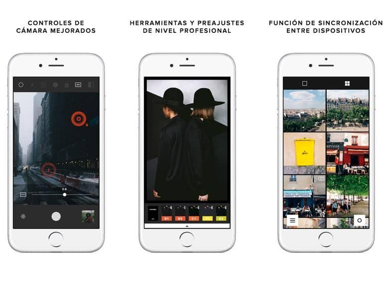 VSCO Cam app camara iphone