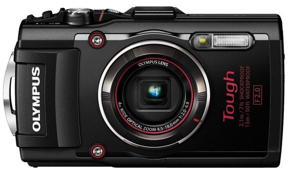 Las mejores cámaras acuáticas: Olympus TG-4