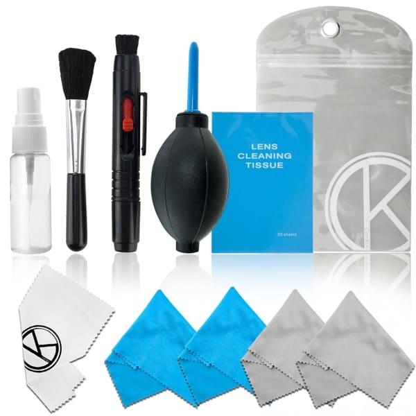 El kit de limpieza para cámaras DSLR y objetivos que lo tiene todo