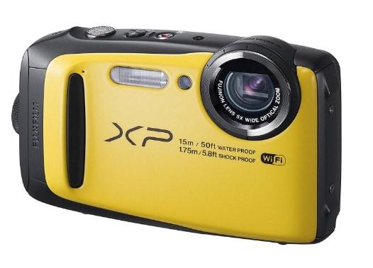 Las mejores cámaras acuáticas: Fujifilm FinePix XP90
