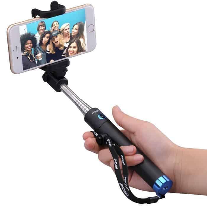 Palo Selfie Mpow iSnap Pro X con Bluetooth