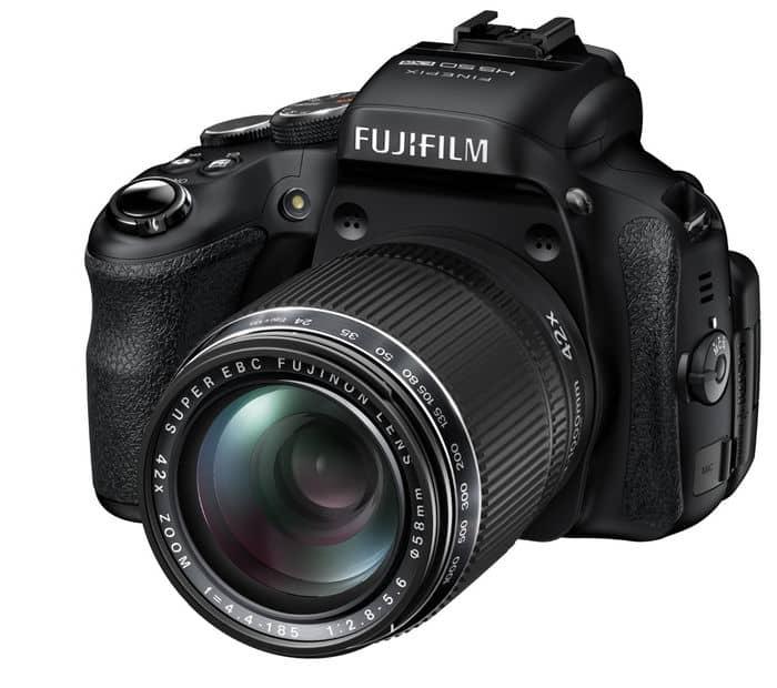 Cámaras Bridge de Fuji: Fujifilm Finepix HS50EXR