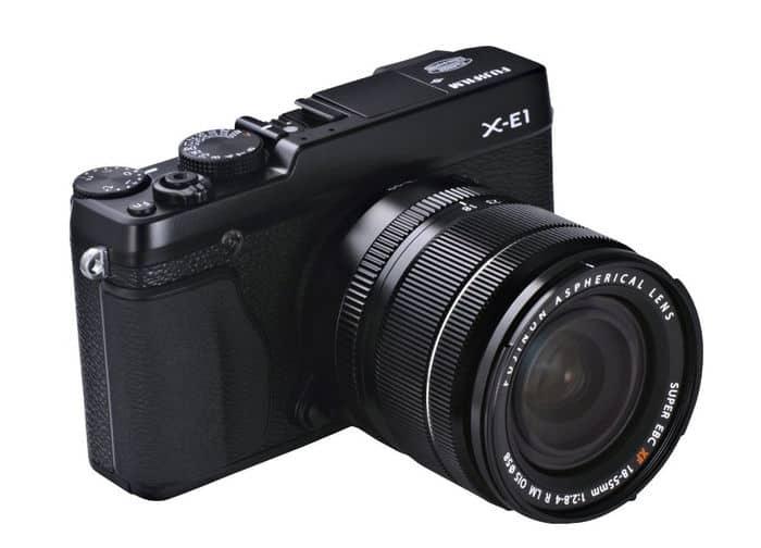 Cámaras CSC (EVIL) de Fuji: Fujifilm X-E1