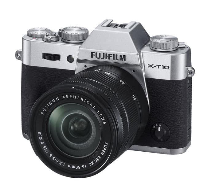 Cámaras CSC (EVIL) de Fuji: Fujifilm X-T10