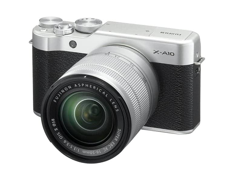 Cámaras CSC (EVIL) de Fuji:Fujifilm X-A10