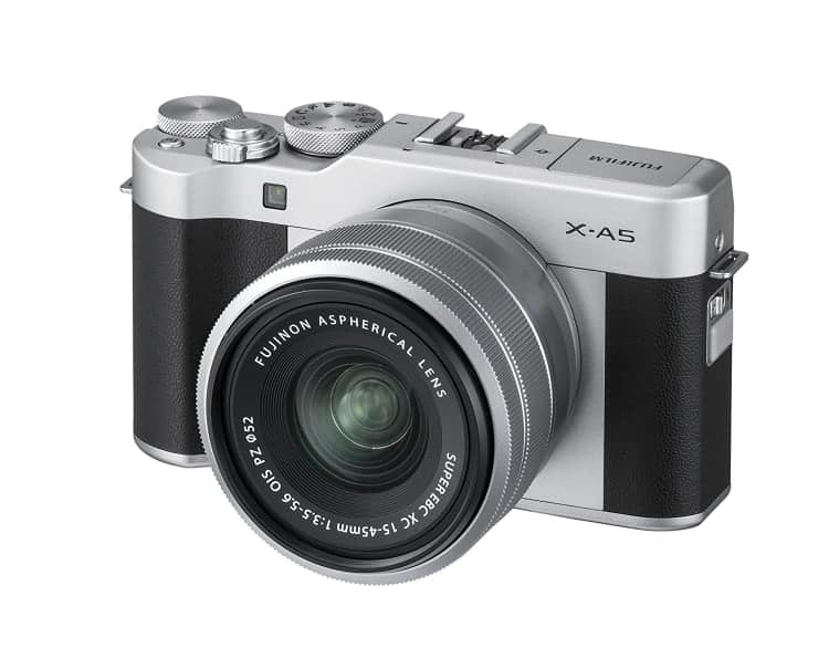 Cámaras CSC (EVIL) de Fuji:Fujifilm X-A5