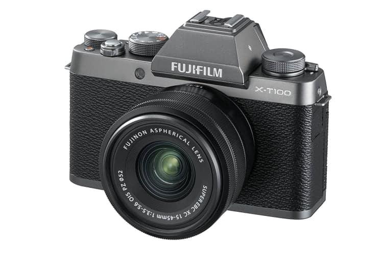 Cámaras CSC (EVIL) de Fuji:Fujifilm X-T100