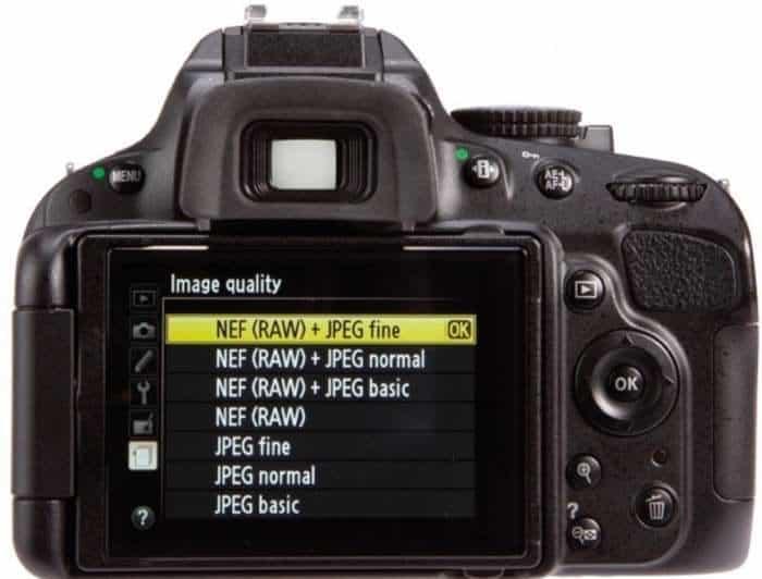 Formato RAW vs JPEG al tomar fotos con tu cámara