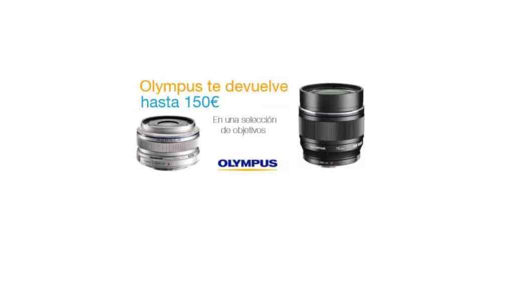 Reembolso de hasta 150 euros por la compra de objetivos Olympus