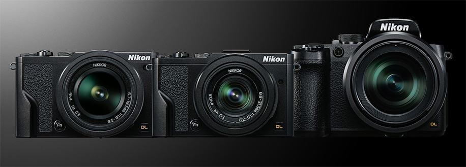 Nikon anuncia tres cámaras compactas para entusiastas:  Nikon DL18-50, DL24-85 y DL-24-500