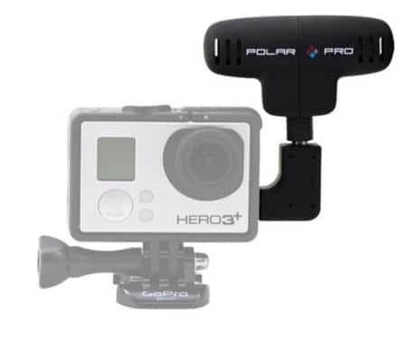 Polar Pro Pro Mic - Micrófono externo para videocámara GoPro