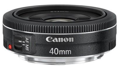 Los objetivos de Canon que debes comprar: Canon EF 40mm f/2.8 STM