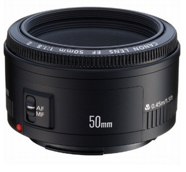 Los objetivos de Canon que debes comprar: Canon EF 50mm f/1.8 II