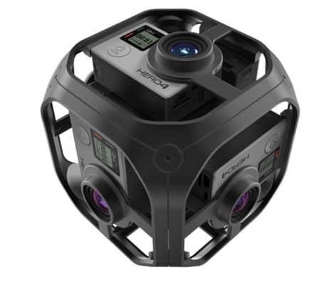 GoPro Omni Camera Rig 360°