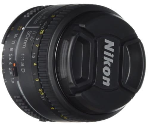 Objetivo Nikon AF Nikkor 50mm