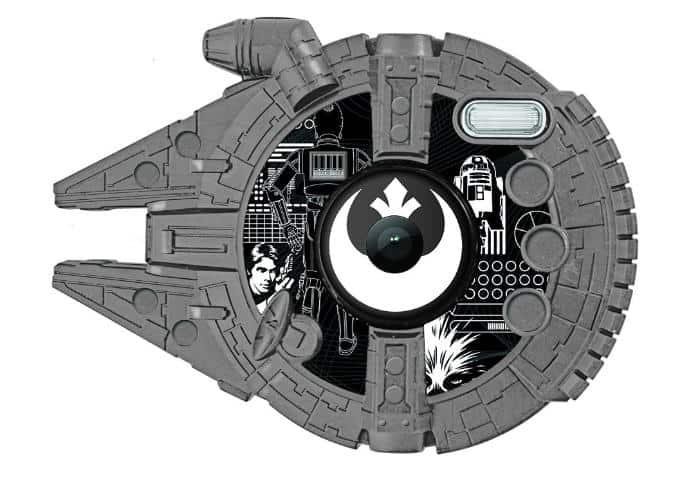 Star Wars - Cámara digital con flash de 1.2 MP, color negro (Lexibook DJ140SW)