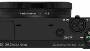 Sony Cyber-shot DSC-RX100 - Cámara compacta de 20.2 Mp