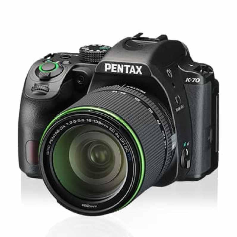 PENTAX K-70 DSLR: nueva cámara resistente a los elementos