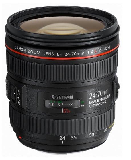 Canon 24-70 mm f/4 L IS USM EF - Objetivo para Canon