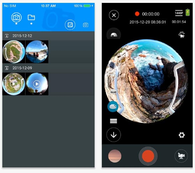 EleCam360 app