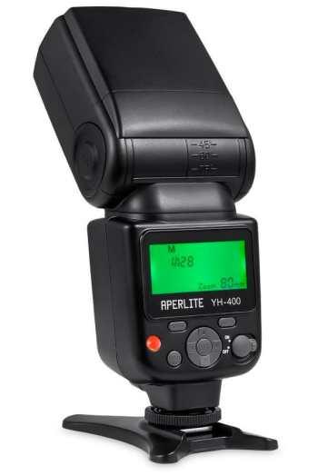 Aperlite YH-400 Flash para Canon y Nikon en oferta por menos de 50 euros