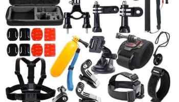 Soft Digits 50 en 1: 50 accesorios para cámaras GoPro HERO por menos de 20 euros en Amazon España